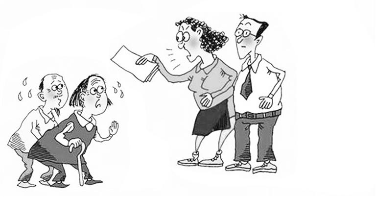 手绘漫画 校园法制
