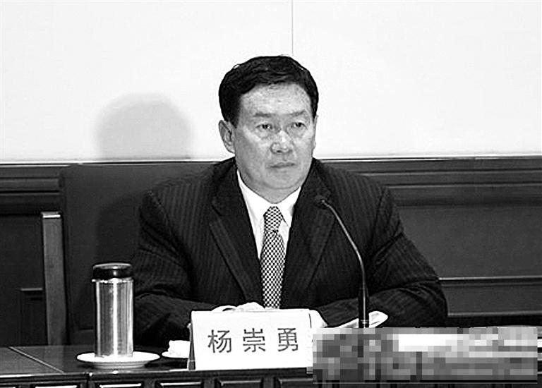 据媒体报道,杨崇勇
